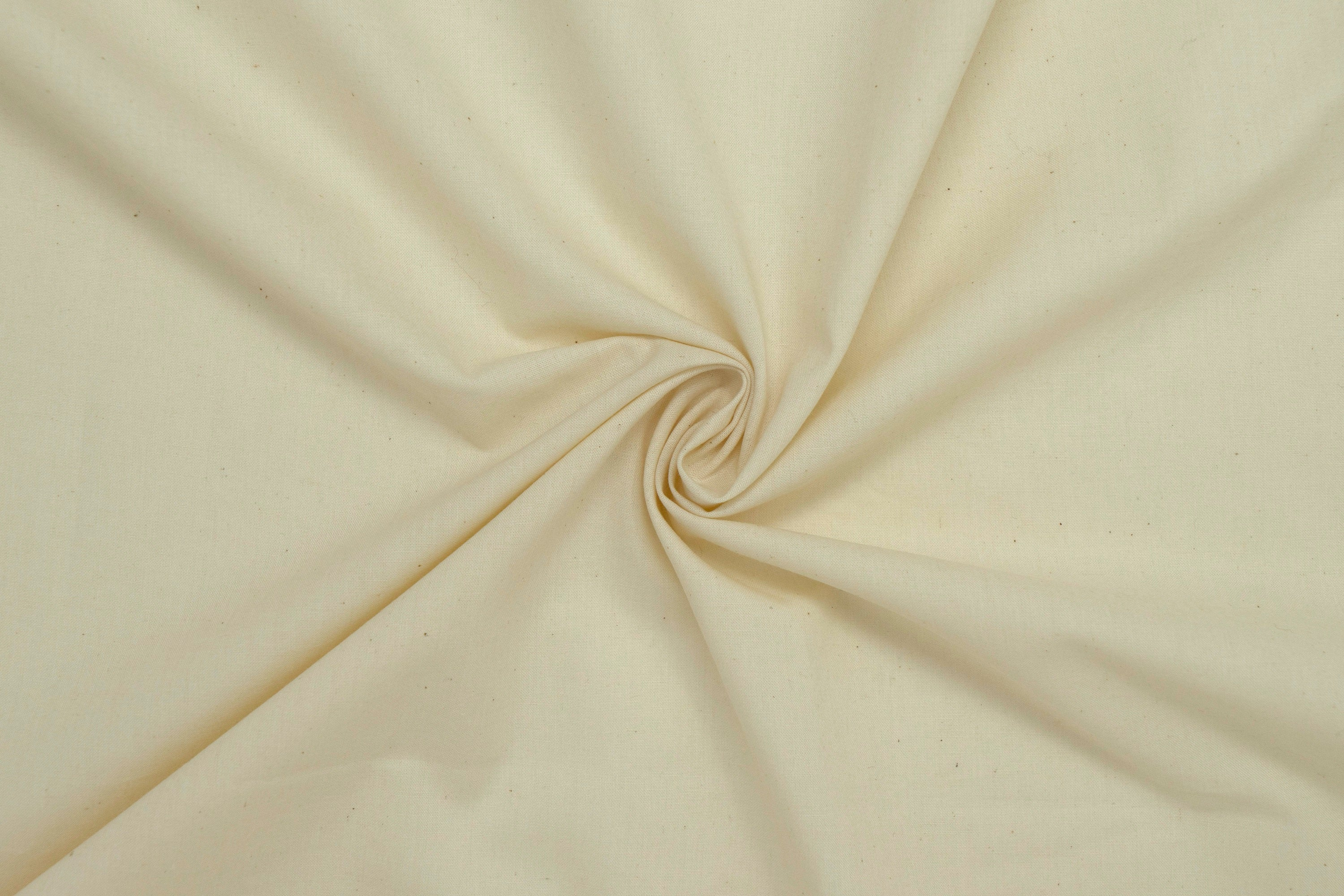 "100% Cotton 118/120"" Wide Muslin. Sold by Yard, Unbleached, Off-White"
