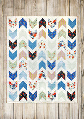 Pow-Wow Quilt Pattern, Paper pattern