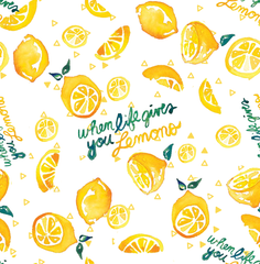 Stitch & Sparkle Fabrics, Fruity, We Love Lemon Cotton Fabrics,  Quilt, Crafts, Sewing, Cut By The Yard