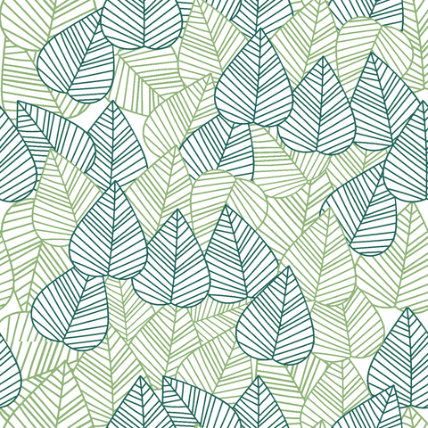 Stitch & Sparkle Fabrics, Tropical, Leaves With Lines Cotton Fabrics,  Quilt, Crafts, Sewing, Cut By The Yard