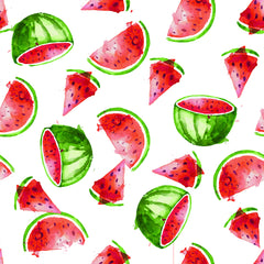 Stitch & Sparkle Fabrics, Fruity, Fresh Watermelon  Cotton Fabrics,  Quilt, Crafts, Sewing, Cut By The Yard