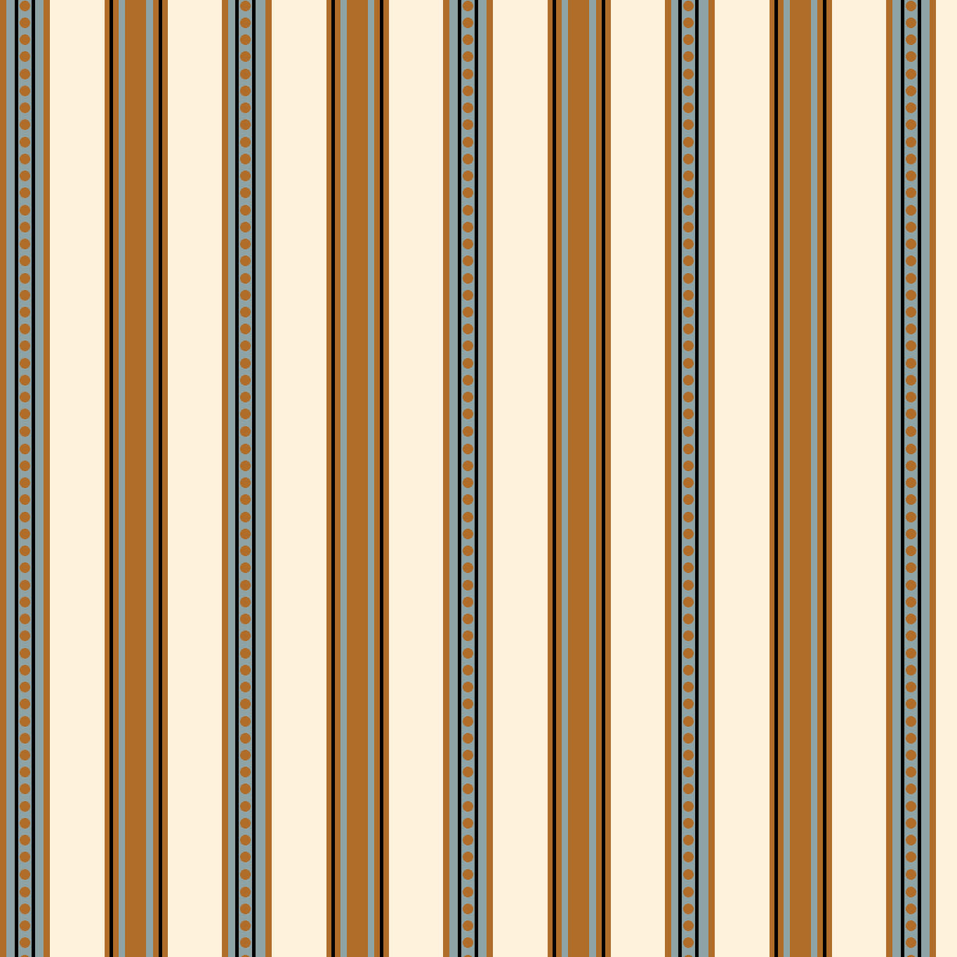 AVIARY-SS AY Stripe Larch100% Cotton Print fabric