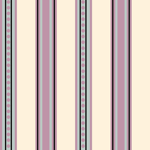 AVIARY-SS AY Stripe Lavender 100% Cotton Print fabric