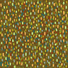 "Stitch & Sparkle Impressionism Moment-Army 100% Cotton Fabric 44"" Wide, Quilt Crafts Cut By The Yard"