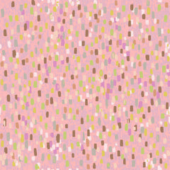 "Stitch & Sparkle Impressionism Moment-Pink 100% Cotton Fabric 44"" Wide, Quilt Crafts Cut By The Yard"