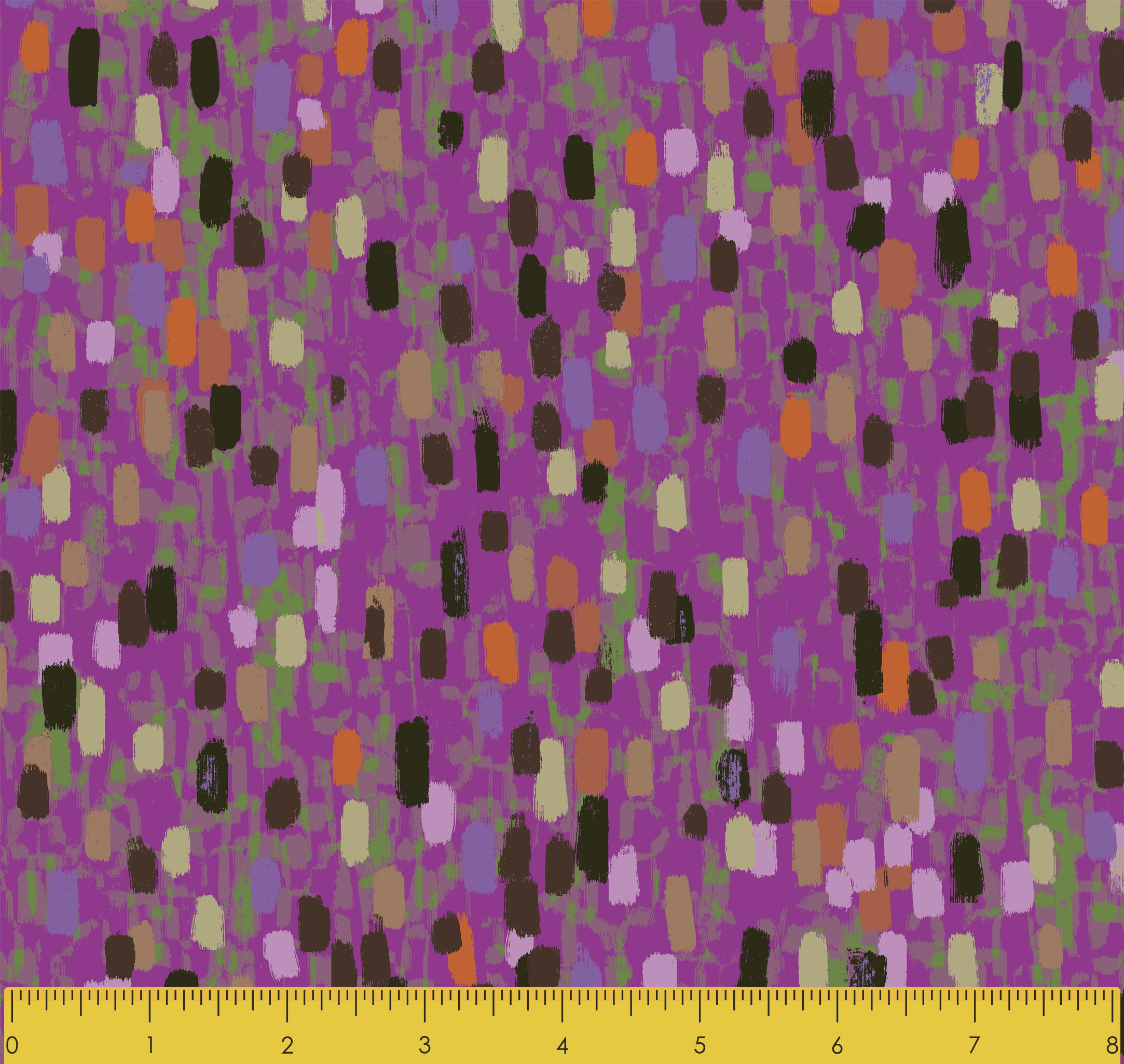 "Stitch & Sparkle Impressionism Moment-Rose 100% Cotton Fabric 44"" Wide, Quilt Crafts Cut By The Yard"