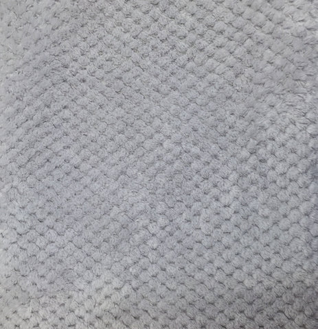 Grey honeycomb fleece