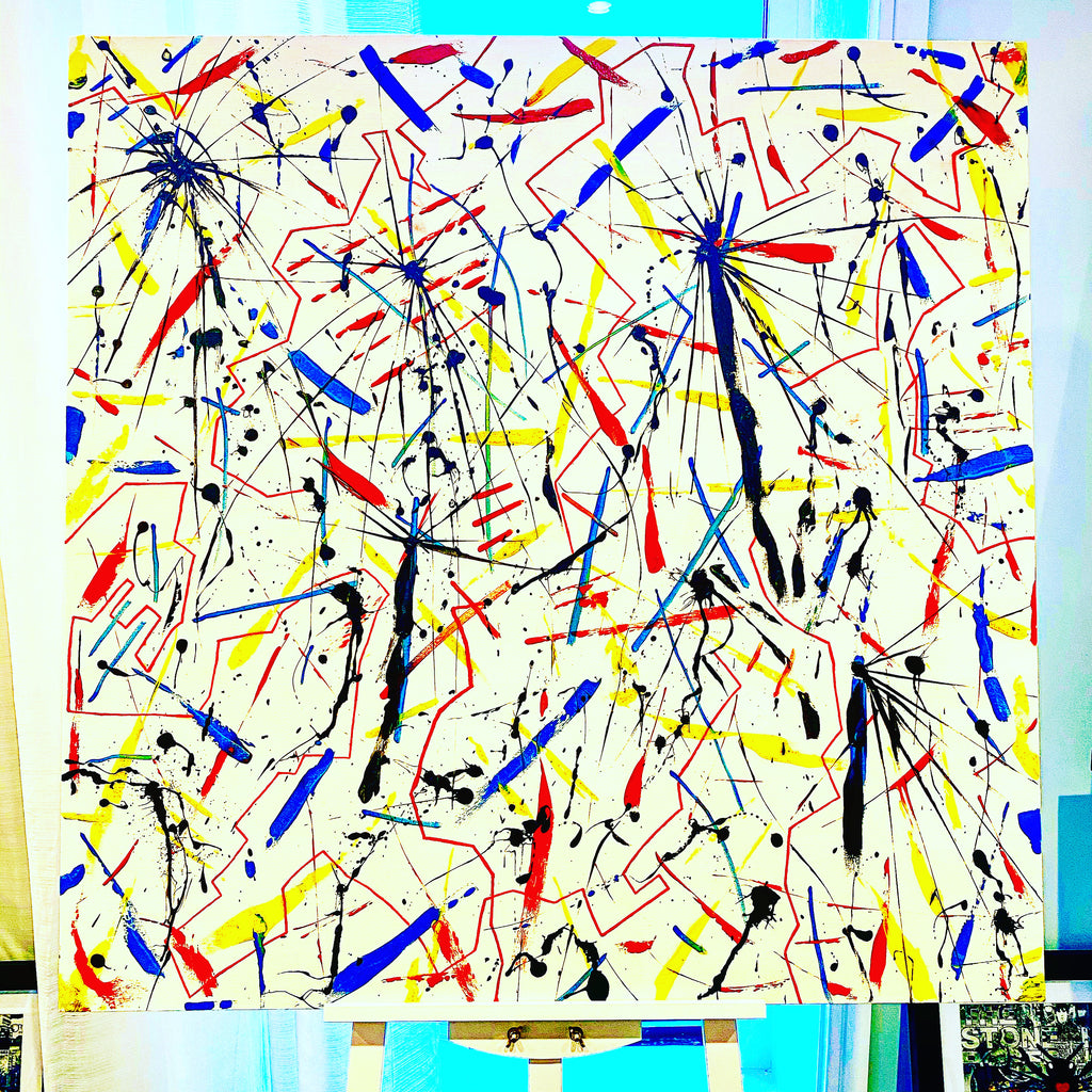 Oil painter, oil painter,abstract painting