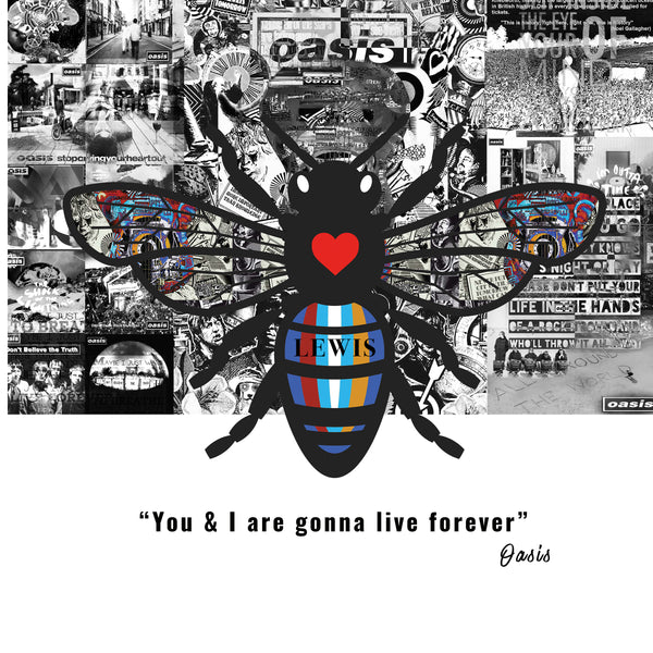 Manchester bee, oasis bee