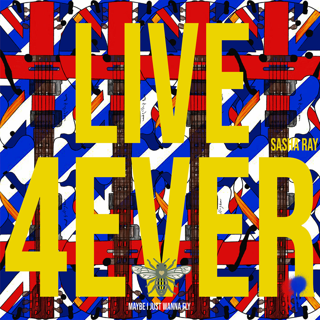 Blue Bee Cushion SOLD OUT
