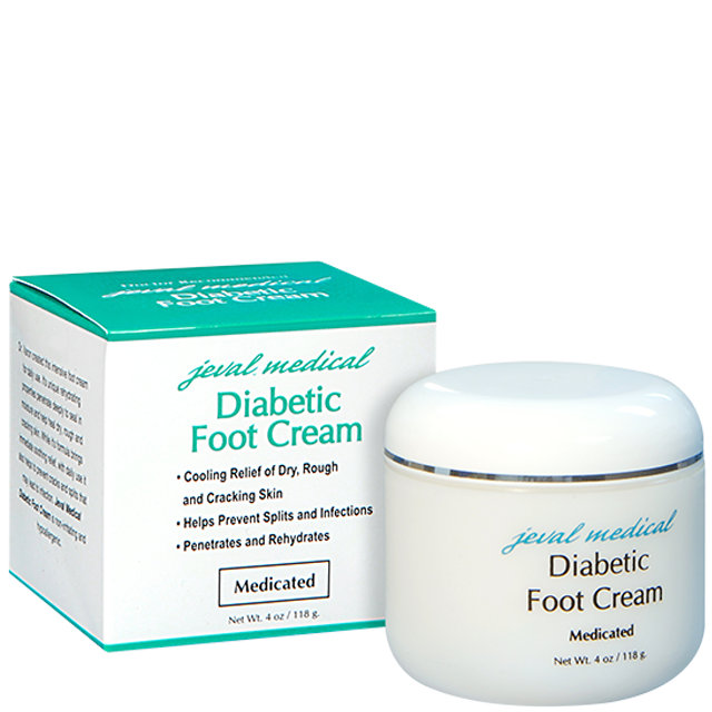 Jeval Medical® Diabetic Foot Cream