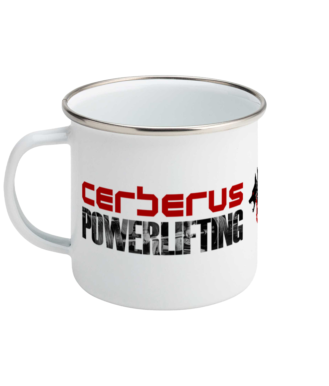 Image of Powerlifting Enamel Mug