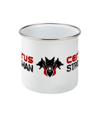 Image of Strongman Enamel Mug