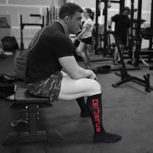 Cerberus Deadlift Socks