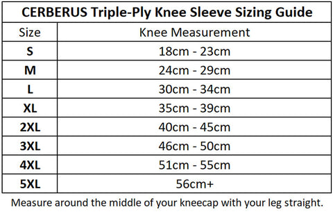 Triple-Ply Knee Sleeves