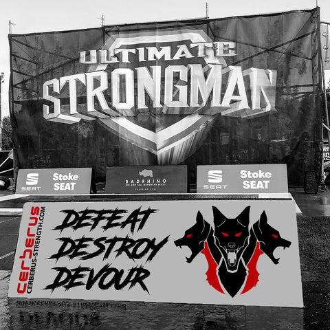 Image of DEFEAT DESTROY DEVOUR V2 Banner