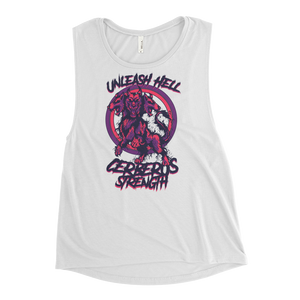 Unleash Hell Ladies Muscle Tank