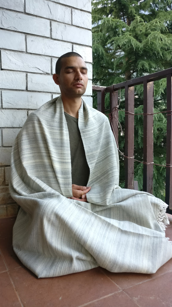 Why you need a woollen meditation shawl ??