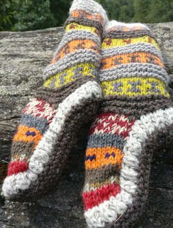 Pure Wool Socks and Wool Leg Warmers