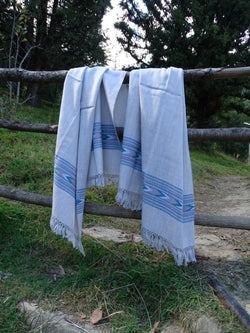 Beautiful Sheep & Angora Wool Blanket Scarf