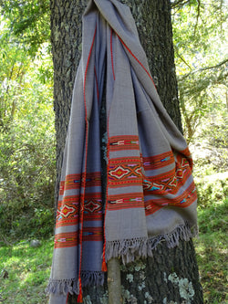 Beautiful tribal wool scarf