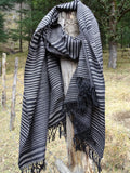 Mens Oversized blanket Scarf