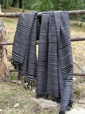 handmade men's oversized blanket scarf
