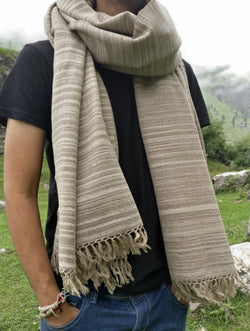 Large winter scarf