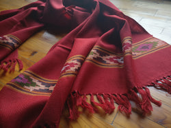 Wool scarf/ stole