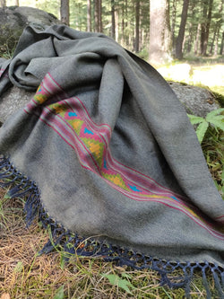 Handloomed Tribal Long Wool Scarf / Stole