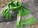 Beautiful handloomed tribal wool scarf/ stole