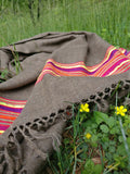 Handloomed Himalayan Scarf in Wool