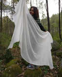 White wedding shawl