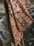 Pure Silk and Pashmina Blend Unisex Shawl