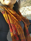 Pure Crepe Silk Neck Scarf for Women