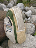 Himalayan hemp bag, hemp backpack