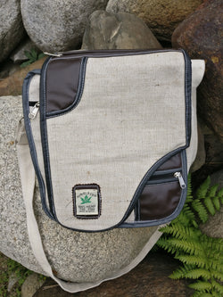 Hemp satchel bag/side bag