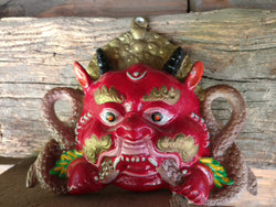 Buddhist dragon mask