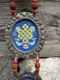 Buddhism 8 auspicious symbols wall decor