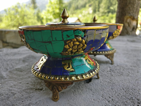 Himalayan candle stands
