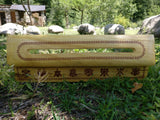 Incense holder with 8 auspicious buddhist symbols