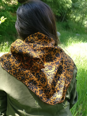 Raw Silk Scarf