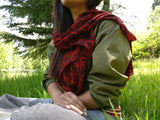 Crepe silk neck Scarf