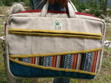 Hemp laptop bag