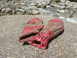 Pink Woollen Winter Socks