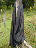 Wool throw, blanket scarf