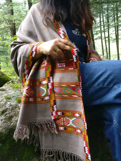 Tribal Indian shawl