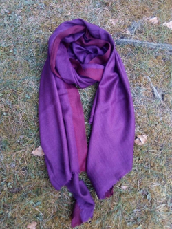 Soft Wool and Angora Blend Scarf