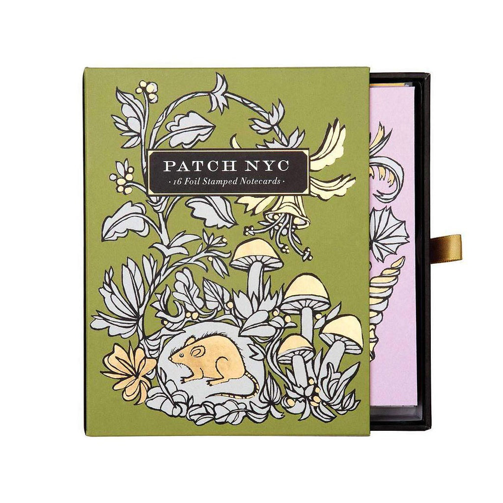 Patch NYC - Foil Stamped Notecards