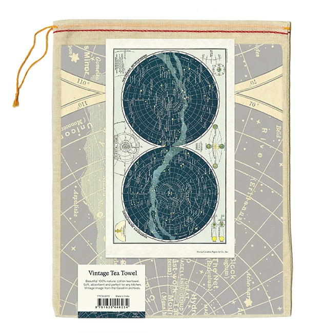 Celestial Chart Tea Towel